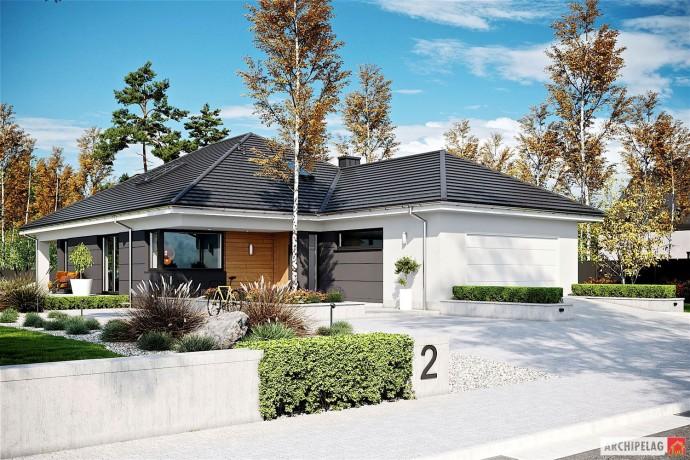 Permis de construire + Étude thermique RT 2012 / Plan de maison ALISON IV G2 140 M2 / KIT Maison ossature bois Massif KVH