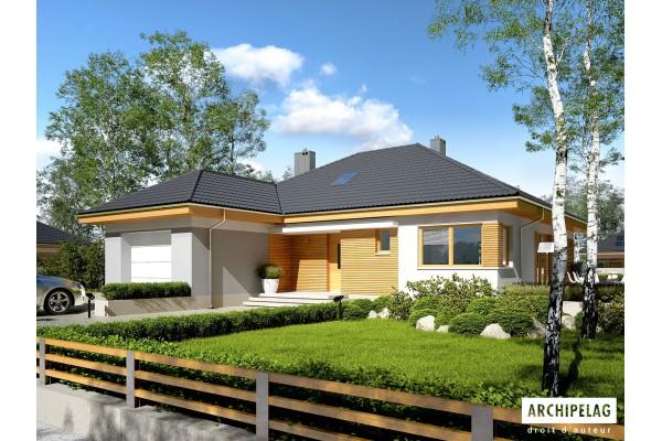 DOSSIER Permis de construire / Maison en bois, kit à...