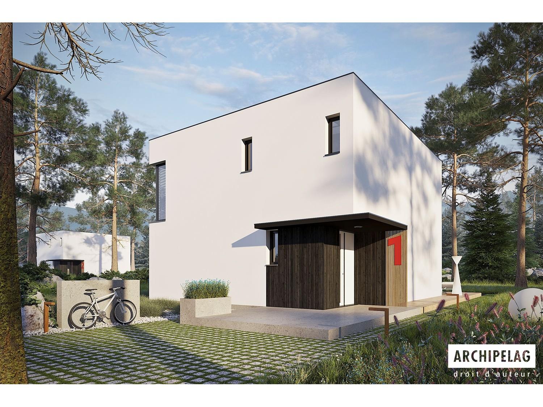 Maison passive rt 2020 kit ossature bois prix hors d 39 eau plan de main ex2 133 36 m - Assurance maison hors d eau hors d air ...