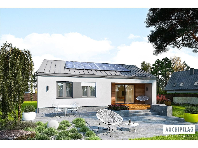 maison ossature bois plan de maison moderne kit mini 3. Black Bedroom Furniture Sets. Home Design Ideas
