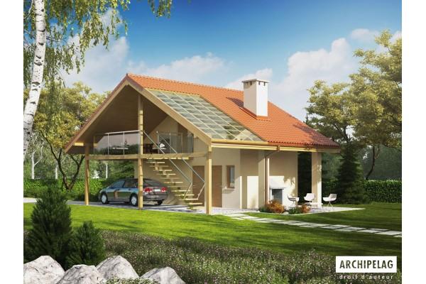 DOSSIER Permis de construire Garage ossature bois kit,...
