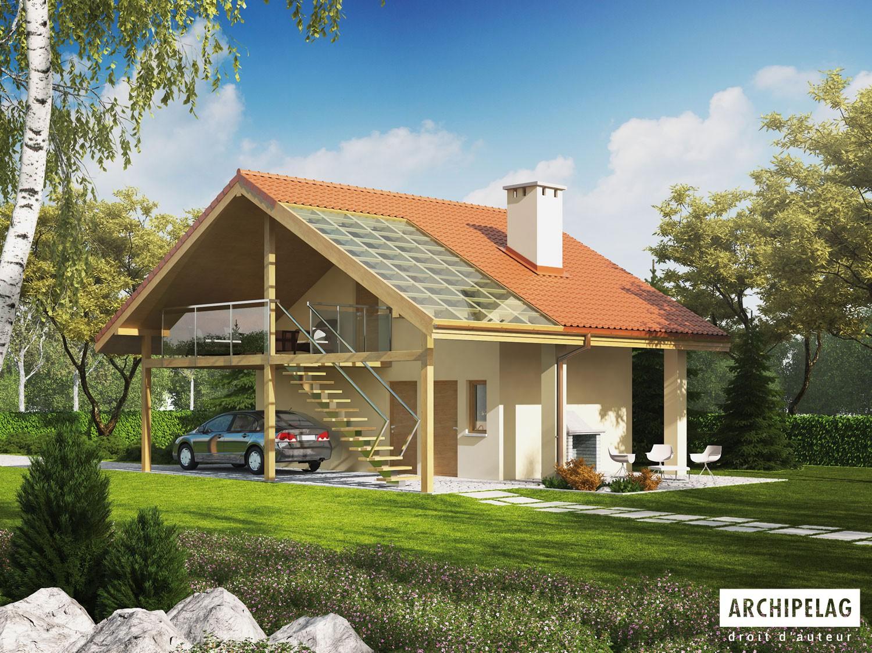 permis de construire garage ossature bois kit garage avec. Black Bedroom Furniture Sets. Home Design Ideas