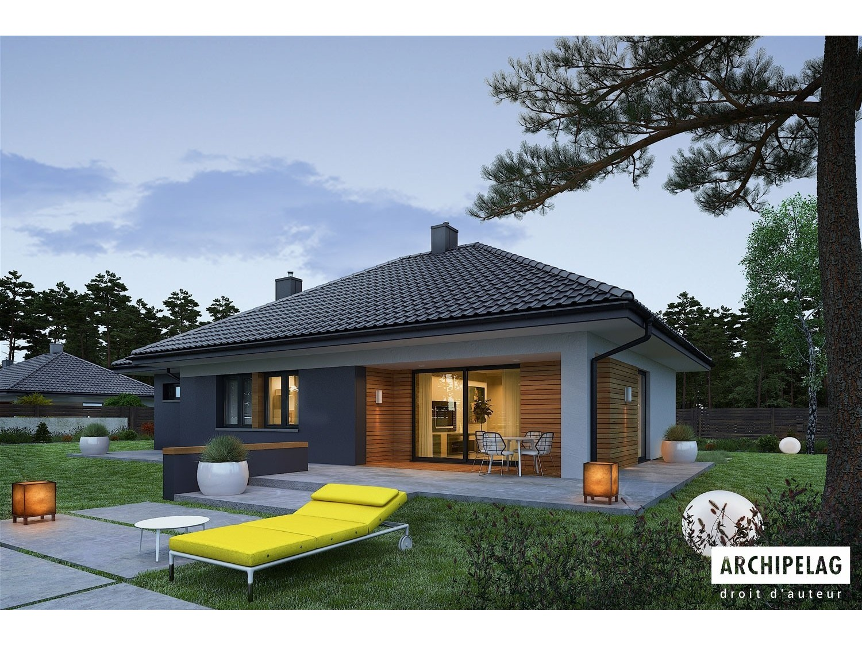 maison bois kit mini 1g1 boiskiteco kit ossature bois. Black Bedroom Furniture Sets. Home Design Ideas