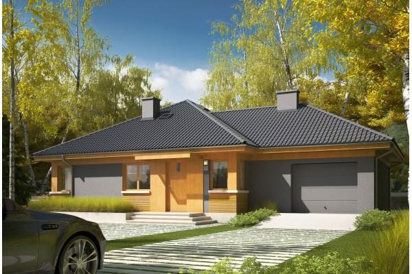 Maison en bois, kit à ossature bois / plan de maison...