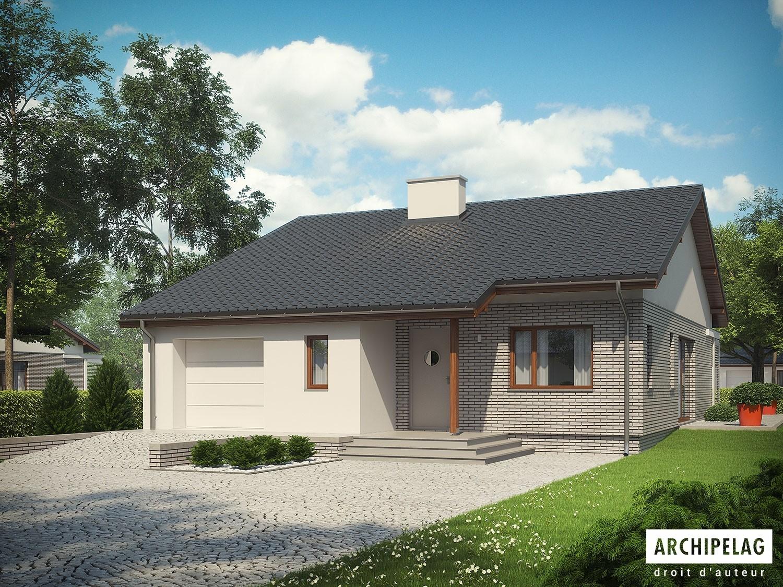 Dossier pcmi maison en bois en kit ossature bois plan armando ii g1 energo 111 m - Maison en kit ecologique ...