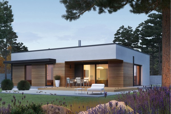 Dossier permis de construire Maison kit ossature bois...