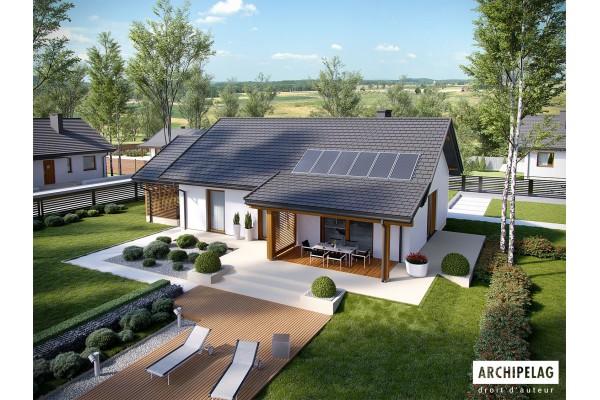 Permis de construire RT 2012 / Maison en bois, kit...