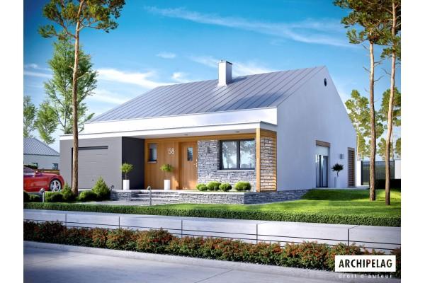 Permis de construire / KIT Maison ossature bois / plan de...