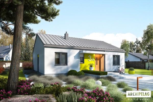 Permis de construire RT 2012 / Plan de maison plain-pied...
