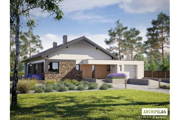 Permis de construire + RT 2012 / Plan de maison moderne...