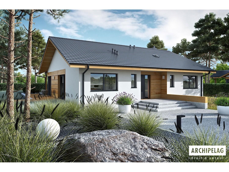 Permis de construire RT 2012 / plan de maison moderne MINI 4W II 130 M²