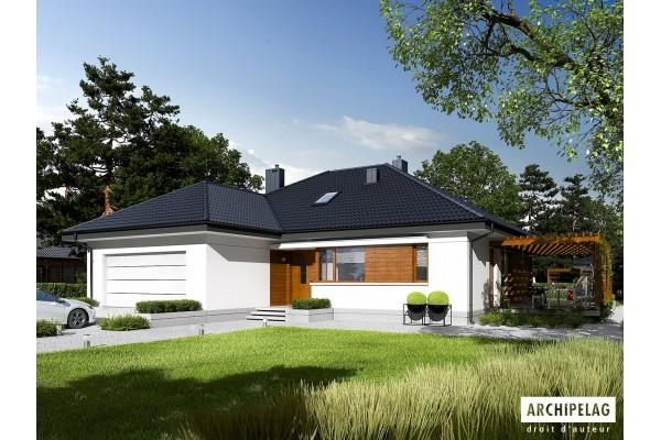 Permis de construire pour la maison en bois type ASTRID...