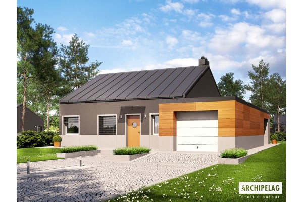 "DOSSIER Permis de construire / plan de maison ""EDWIN II..."