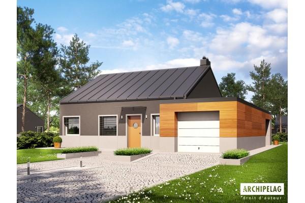 "Permis de construire / plan de maison ""EDWIN II G1..."