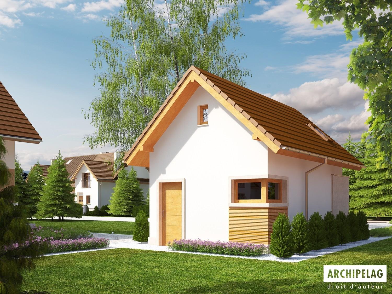 garage en bois en kit ossature bois plan avec un. Black Bedroom Furniture Sets. Home Design Ideas