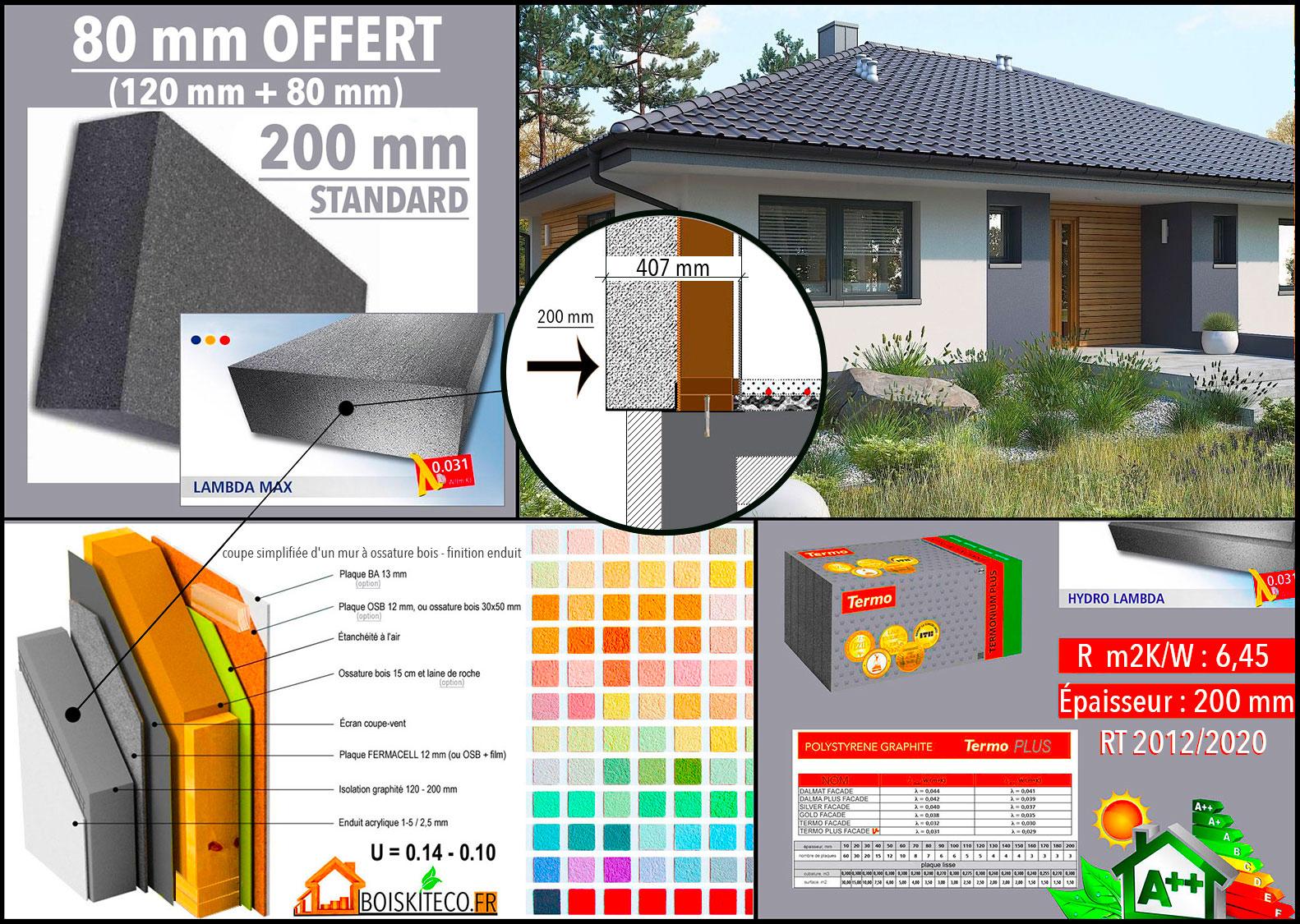 ISOLATION EXTERIEUR MAISON OSSATURE BOIS mini 4