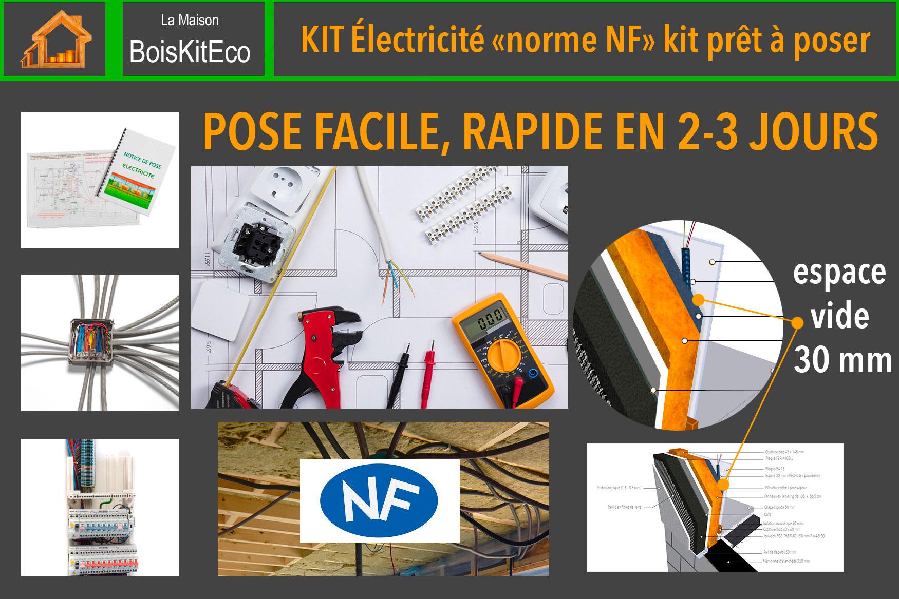 kit électricité auto-construction