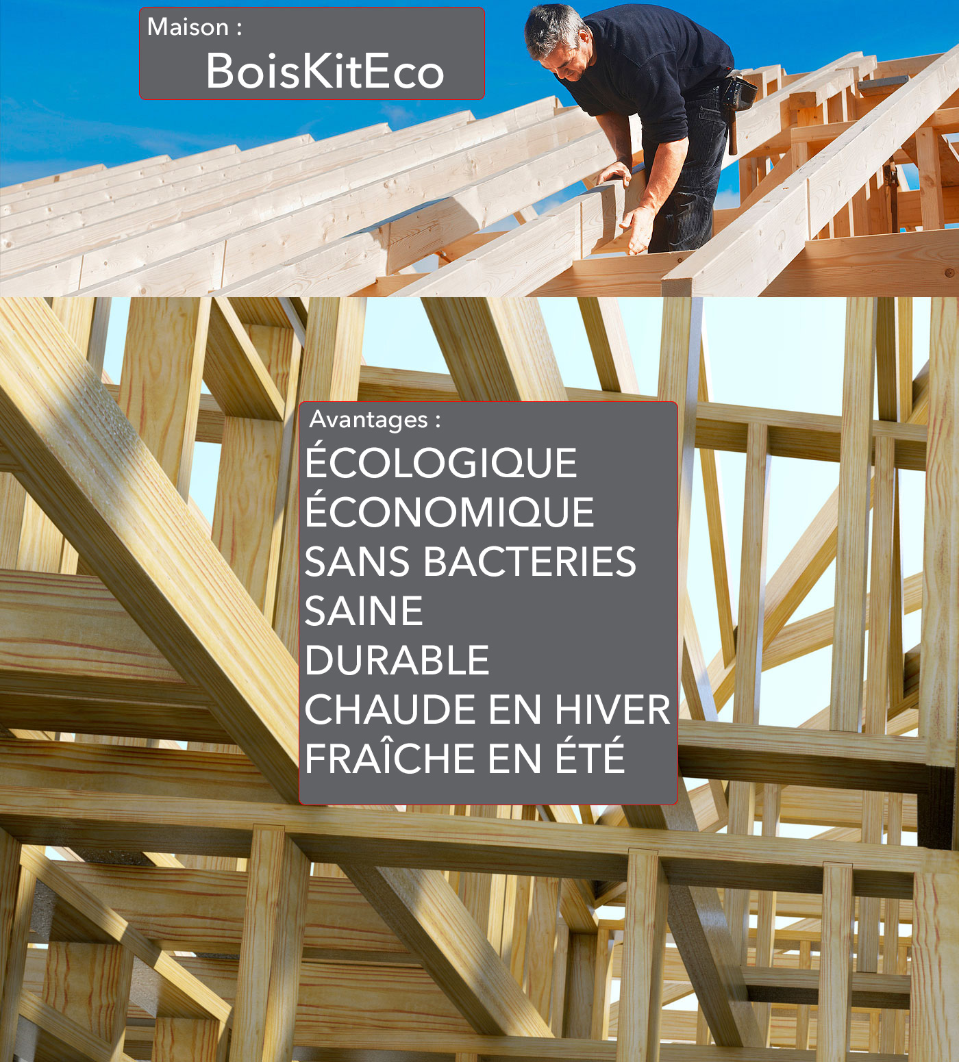 maison ossature bois kit avantages