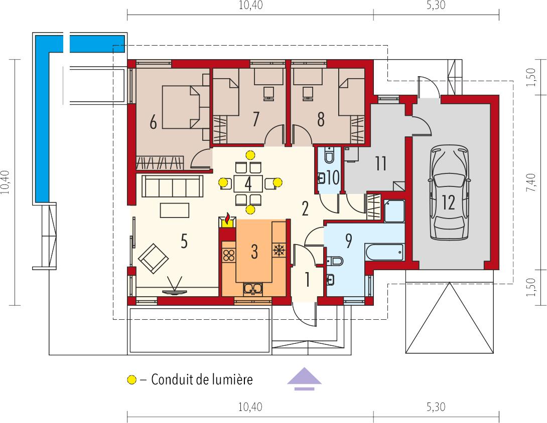 plan de maison anabela