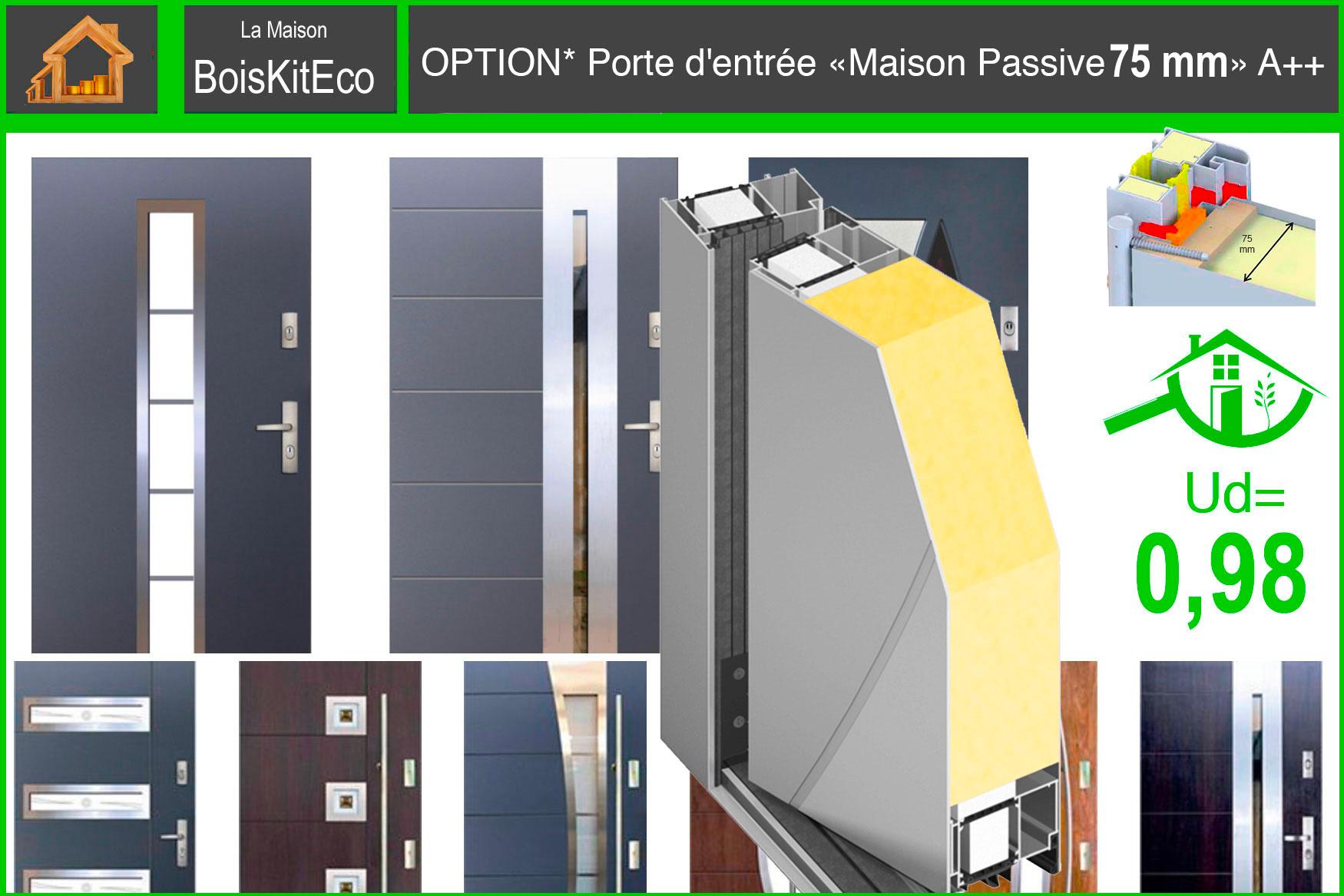 PORTE MAISON PASSIVE mini energy